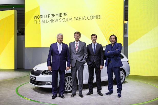 Bild von Neuer SKODA Fabia und Fabia Combi feiern Weltpremiere