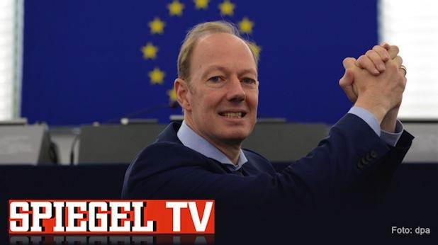 """Bild von """"Sonneborn rettet die EU"""" jetzt als Video-Kolumne bei Spiegel TV"""