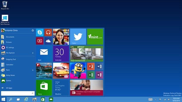 Photo of Microsoft gibt ersten Ausblick auf Windows 10