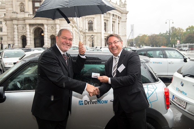 Photo of DriveNow in Wien gestartet