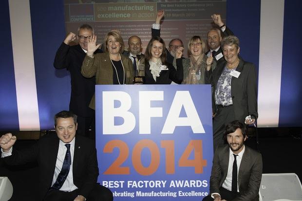 """Bild von BRITA Großbritannien erhält einen der begehrten """"Best Factory Awards"""""""
