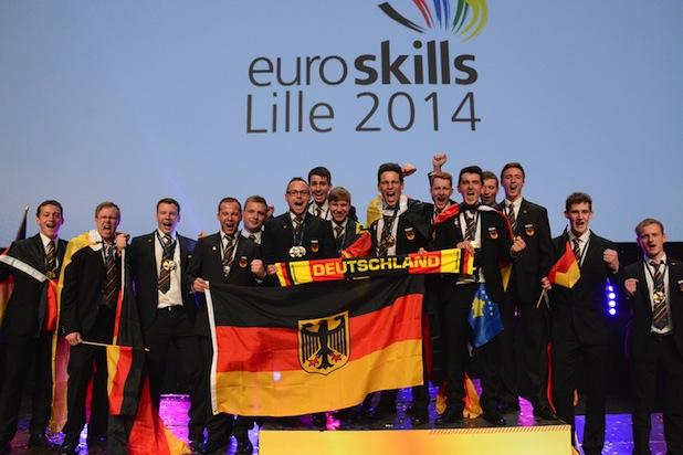 "Quellenangabe: ""obs/WorldSkills Germany e.V./WorldSkills Germany/Jörg Wehrmann"""