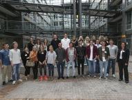 Über 20 Erstsemester starten ihr Studium an der eufom in Stuttgart