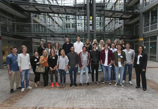 Bild von Über 20 Erstsemester starten ihr Studium an der eufom in Stuttgart