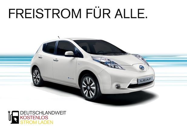 Bild von Nissan gibt starkes Bekenntnis zur Elektromobilität