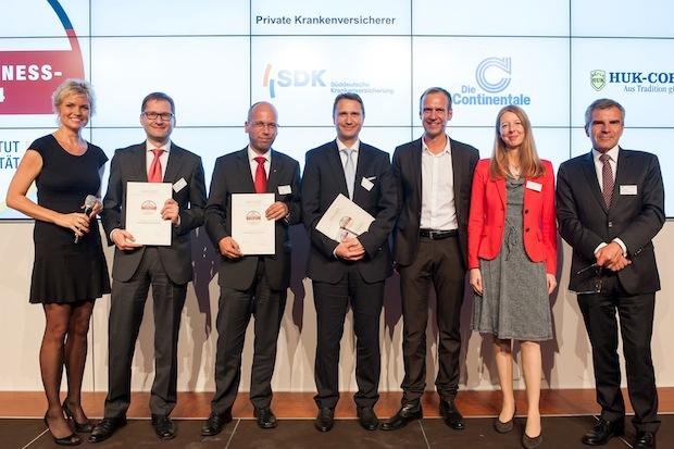 Photo of Deutscher Fairness-Preis 2014 für Continentale Krankenversicherung a.G.