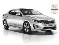 Kia Optima Hybrid* vierfach ausgezeichnet