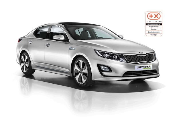 Photo of Kia Optima Hybrid* vierfach ausgezeichnet