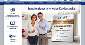 Küchen Quelle sichert sich in 2014 Titel bei Service Champions