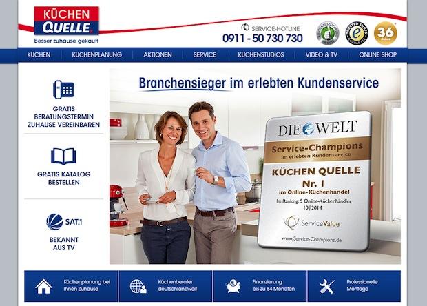 Photo of Küchen Quelle sichert sich in 2014 Titel bei Service Champions