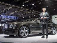 Bentley zeigt das neue Flagschiff Mulsanne Speed