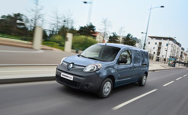 Der Renault Kangoo Z.E. - 100 % Flexibilität und Alltagstauglichkeit