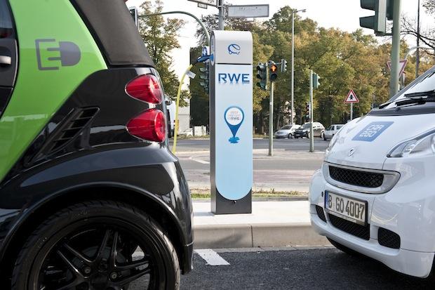 Photo of RWE Effizienz auf der eCarTec in München