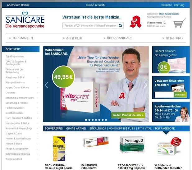 Bild von Sanicare: Marken-Relaunch erfolgreich abgeschlossen
