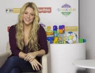 Fisher-Price startet globale Partnerschaft mit Shakira und der Barefoot Foundation