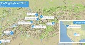 Skigebiete-Test.de kürt die besten Skigebiete der Welt