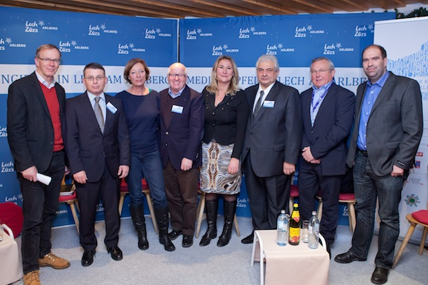 Bild von Mediengipfel am Arlberg im Zeichen der europäisch-russischen Beziehungen