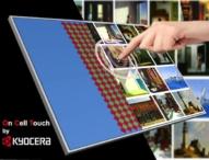 Kyocera präsentiert Touch Screen LCD Module ohne Frontglas