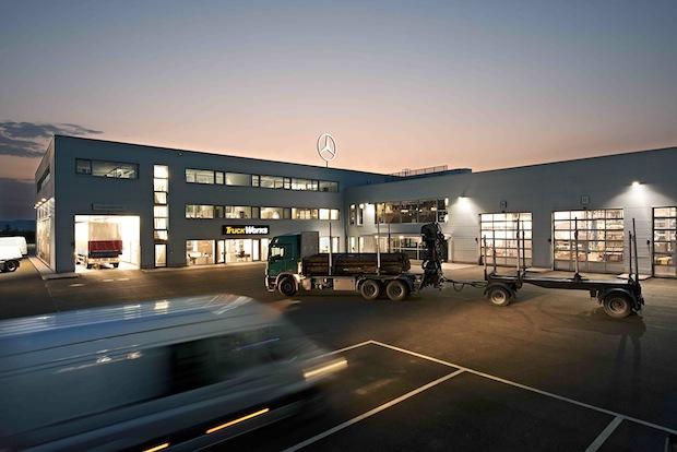 Bild von Mercedes-Benz Service-Marke TruckWorks feiert 5. Geburtstag