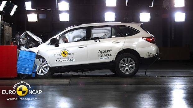 Photo of Neuer Subaru Outback erhält fünf Euro-NCAP-Sterne