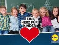 """Lidl spendet 350.000 Euro an """"Ein Herz für Kinder"""""""