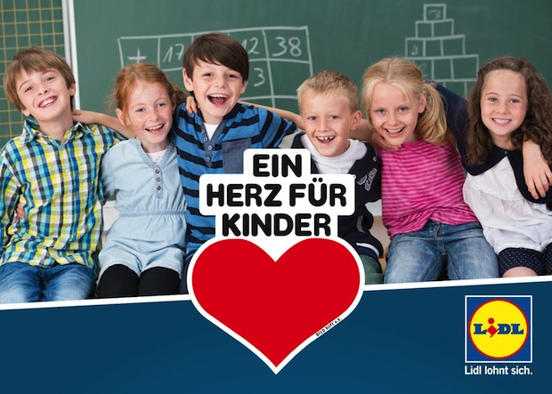 "Photo of Lidl spendet 350.000 Euro an ""Ein Herz für Kinder"""