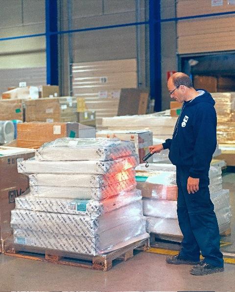Bild von SAX garantiert genaue, schnelle und zuverlässige Lieferungen mit  ZetesChronos