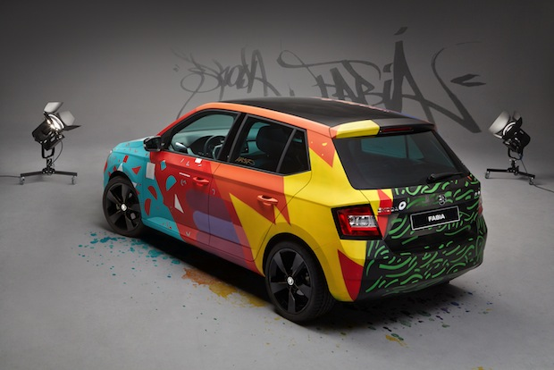 Photo of SKODA Fabia wird zum ,Art Car'