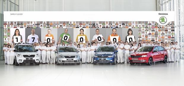 Photo of SKODA produziert 17-millionstes Fahrzeug