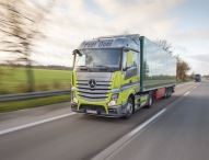 Mercedes-Benz Actros im Fuel Duel