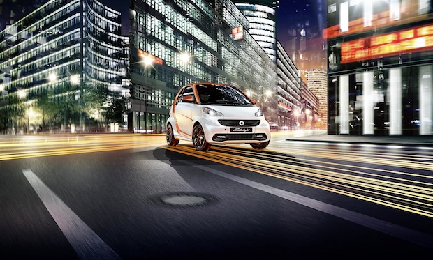Bild von smart fortwo edition flashlight