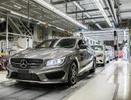 Mercedes-Benz CLA Shooting Brake läuft an