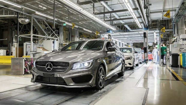 Photo of Mercedes-Benz CLA Shooting Brake läuft an