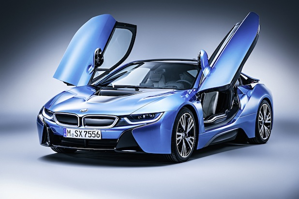 Der BMW i8 Quelle: obs/BMW Group