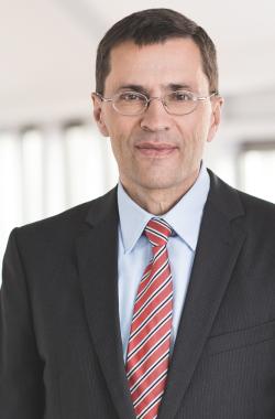 """Michael Hanke leitet ab dem 1. Januar 2015 den Geschäftsbereich """"Industry"""" bei Detecon International. (Fotograf: Immo Fuchs)"""
