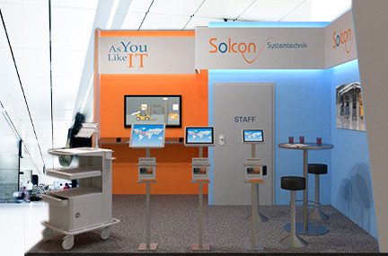 Photo of Solcon auf der LogiMAT 2015