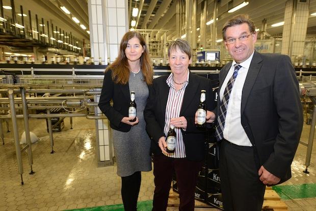 Photo of Bundesumweltministerin besucht Krombacher Brauerei