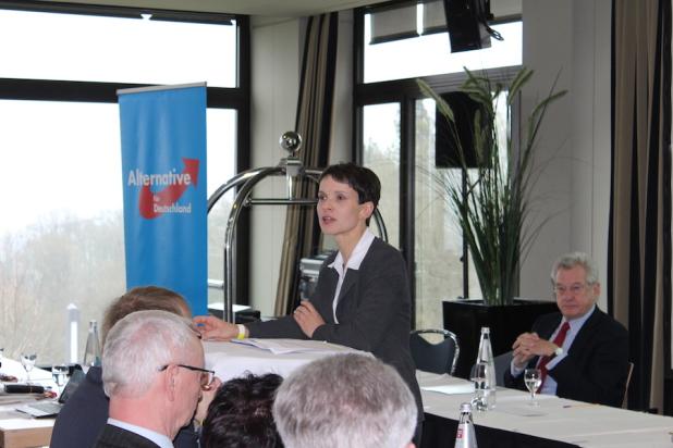 Dr. Frauke Petry (MdL) sprach über die aktuelle Wirtschaftspolitik der GroKo und was sich aus ihrer Sicht dringend ändern muss.