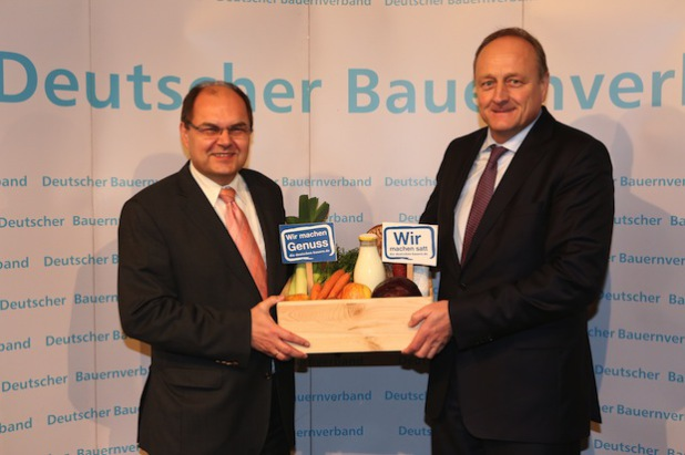 """Quellenangabe: """"obs/Deutscher Bauernverband (DBV)/Schnitzler"""""""