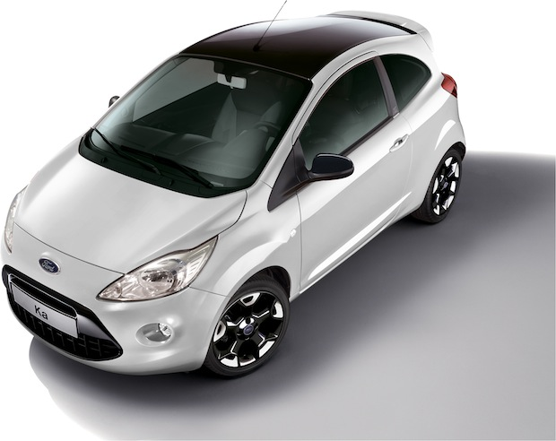 "Photo of Ford Ka mit neuem Individual-Paket ""Black & White Edition"""