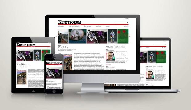 Photo of Neue Internetpräsenz für KUNSTFORUM international