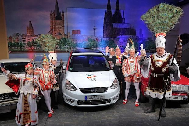 Bild von Jubiläum bei Wagenübergabe im Karnevalsmuseum