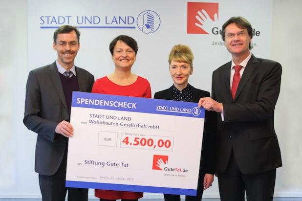 """Quellenangabe: """"obs/STADT UND LAND Wohnbauten-Gesellschaft mbH/Pedro Becerra"""""""