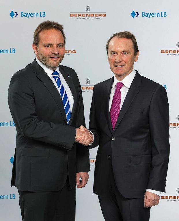 Bild von BayernLB und Berenberg beschließen strategische Partnerschaft