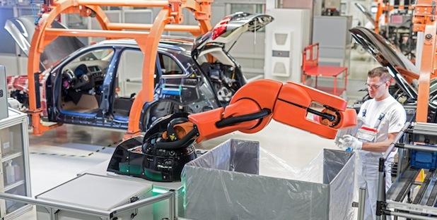Photo of Neue Mensch-Roboter-Kooperation in der Audi-Produktion