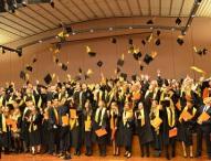 Die EUFH verabschiedete 235 Absolventen am Standort Brühl