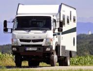 Fernreisemobil Bimobil EX 460 auf Basis Fuso Canter 4×4