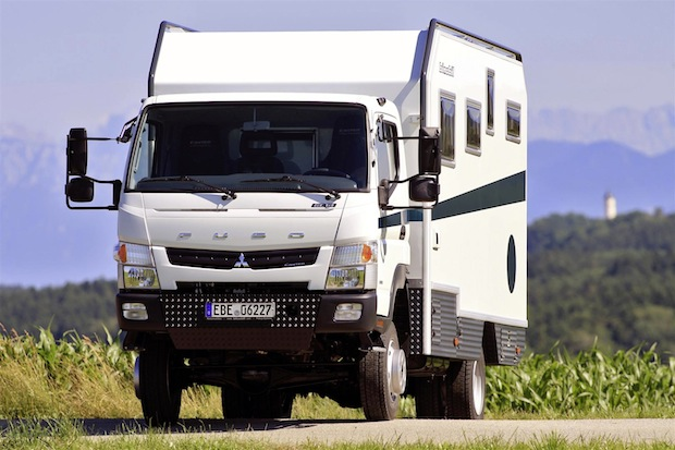 Photo of Fernreisemobil Bimobil EX 460 auf Basis Fuso Canter 4×4