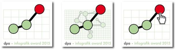 Bild von Wettstreit um dpa-infografik award 2015 hat begonnen