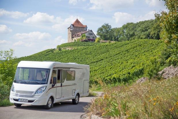 Urlaub mit dem Wohnmobil ist für viele Deutsche die schönste Art zu reisen. Foto: djd/Touristikgemeinschaft HeilbronnerLand e.V.